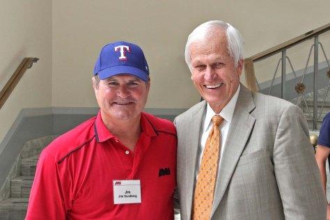 Charlie and Jim Sundberg