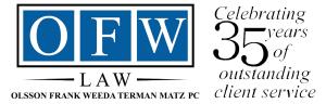 OFW Logo 35th Anniversary